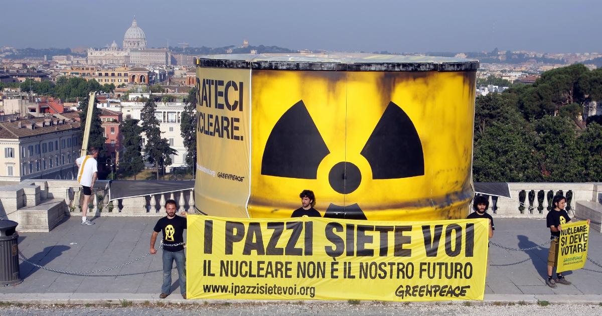 Mario Agostinelli: Nucleare, la Germania ordina pastiglie antiradiazioni per tutti
