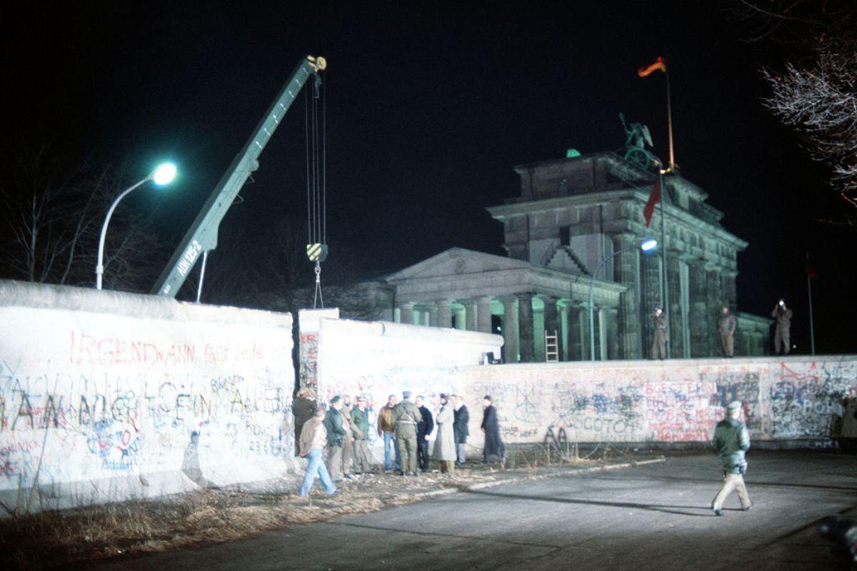 Roberto Dall'Olio: Il muro di Berlino
