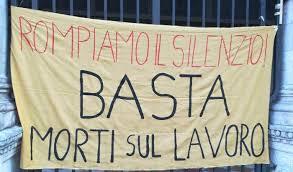 Roberto Dall'Olio: Poesia  sulle morti sul lavoro