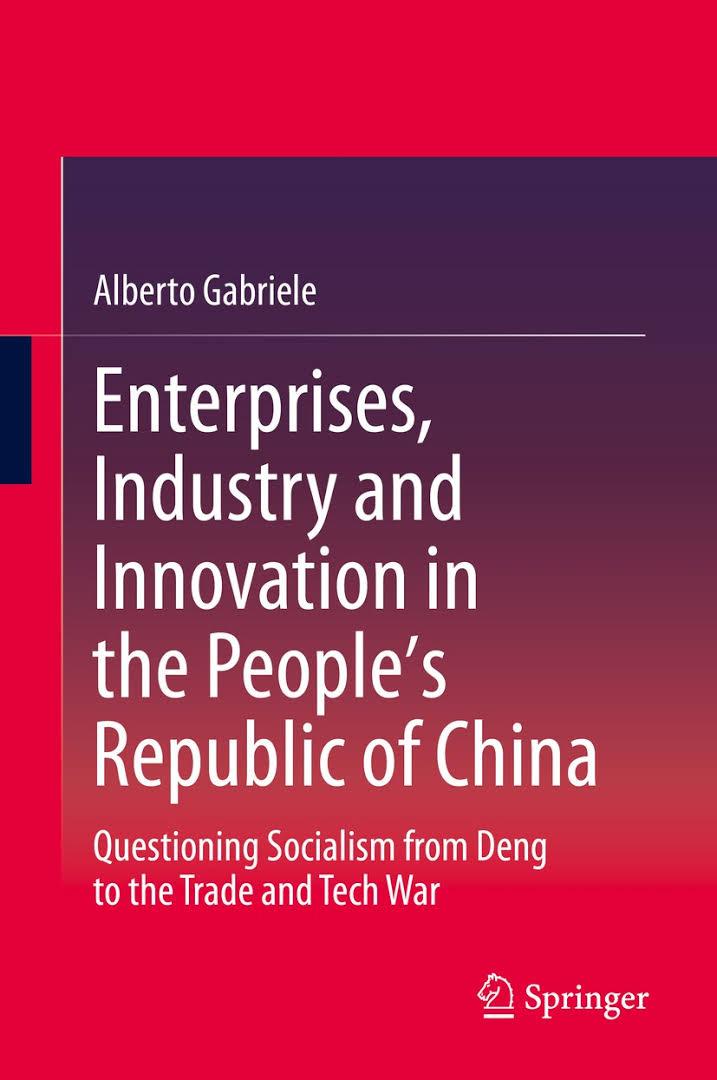 Vincenzo Comito: Sistema  Cina: imprese, mercati , politica