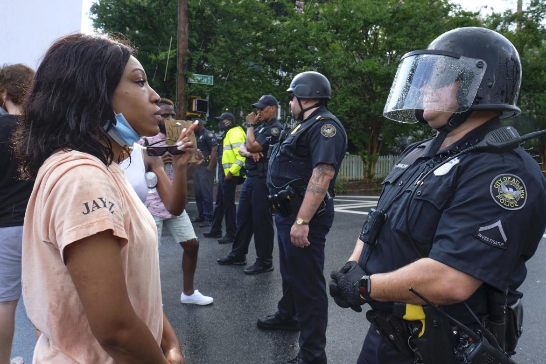 Luca Tancredi Barone: Protesta dei matematici Usa contro la polizia