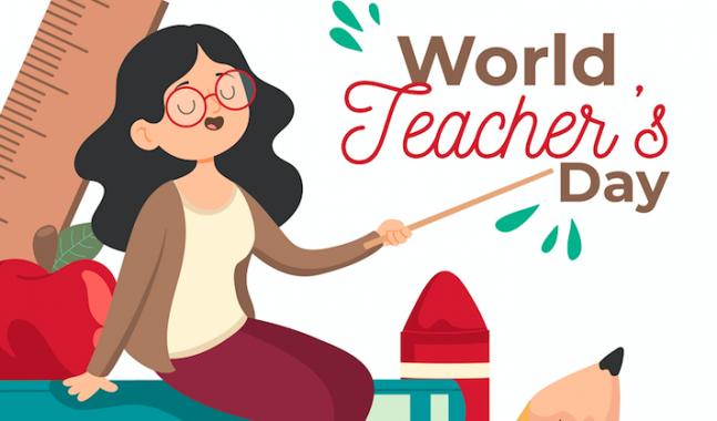 Roberto Dall'Olio: Una poesia per la giornata mondiale dell'insegnamento (5 ottobre 2020)