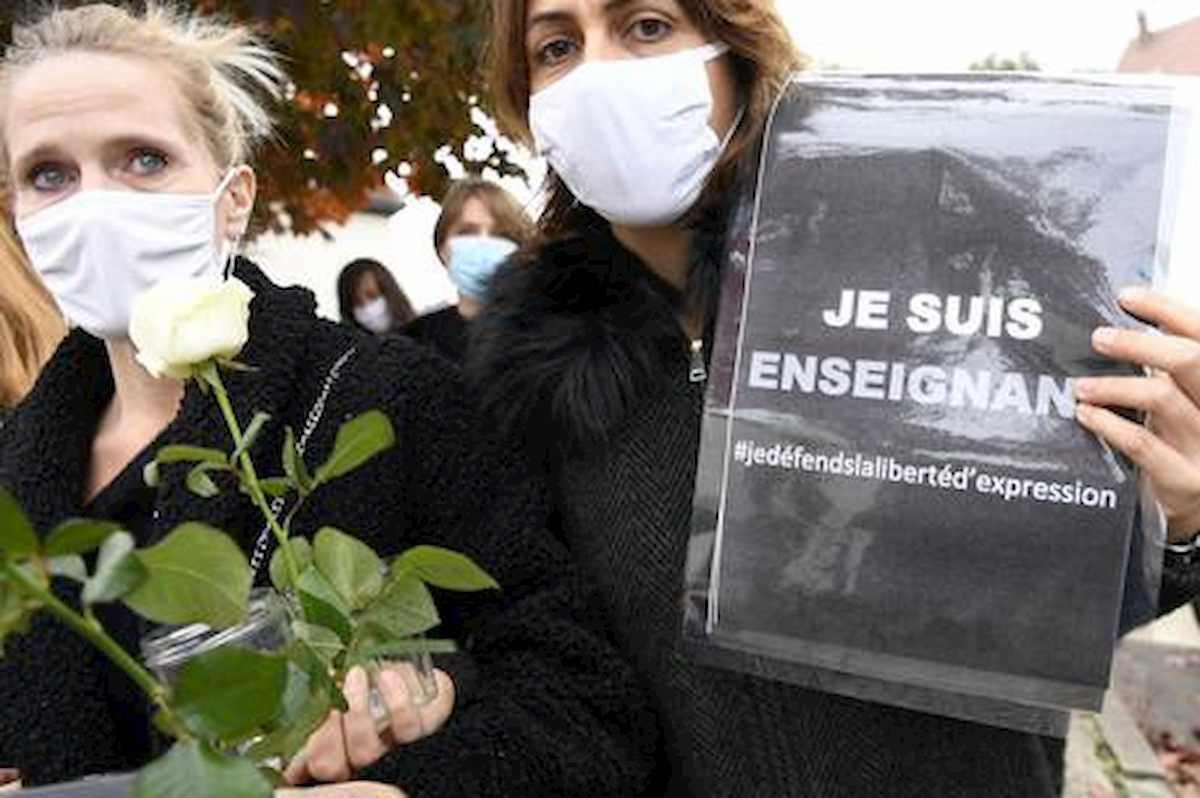 Roberto Dall'Olio : Una poesia per il professore francese ucciso