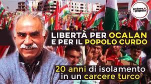 Laura Corradi: Aderiamo alle iniziative per la libertà di Ocalan.