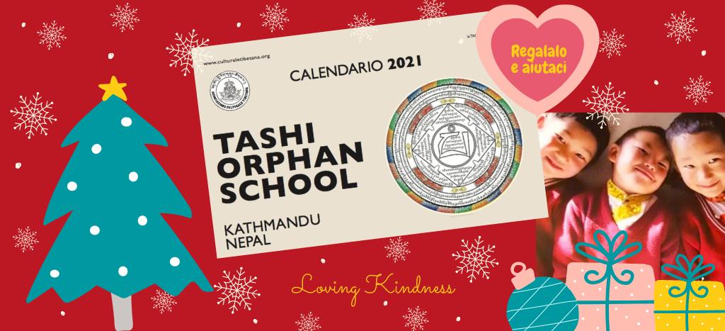 E' disponibile il Calendario solidale 2021 della Associazione Culturale Tibetana