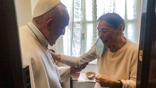 Andrea Monda:   Una luce nel buio, La visita di Papa Francesco a Edith Bruck