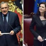 Discorsi integrali di Laura Boldrini e Pietro Grasso