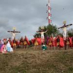 Veronica D'Amico: Terna e la Via Crucis Vivente a Venetico Superiore