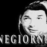 Il primo cinegiornale dell'era Renzi in stile fascista