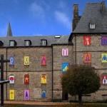 Heidi Wood: L'abbazia di Meymac illumina ogni giorno una sua finestra con un nuovo disegno fino a Natale