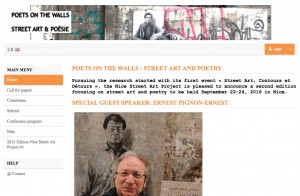 Poets on the wall 2016