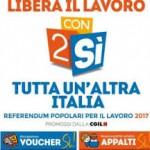 CGIL: Con due SI tutta un'altra Italia. L'11 Febbraio parte la campagna referendaria