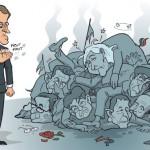 Bruno Giorgini: La rivoluzione di Macron. Il mare degli astenuti. Il disastro della sinistra