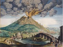 Plinio davanti all'eruzione del Vesuvio
