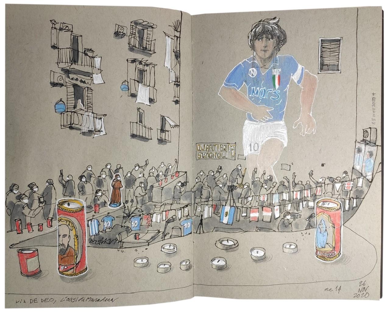 Bruno Giorgini: El  pibe de oro Diego Armando Maradona