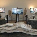 Francesca Brandes: IL LIMITE, Video -installazione di Elisabetta Di Sopra, Museo Archeologico Nazionale di Venezia